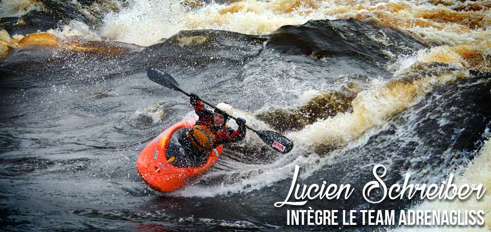 Du kayak freestyle dans le Team Adrenagliss
