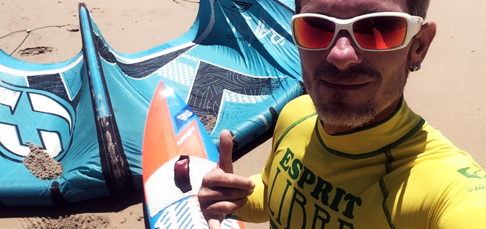 Yann Déjou rejoint le Team Adrenagliss, section Kitesurf