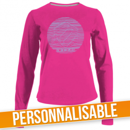 Teeshirt manches longues femme personnalisable